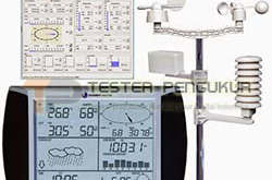 Alat pemantau cuaca dan iklim Weather station aw002