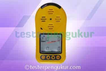 Alat Pendeteksi Gas 4 In One Gas Detektor BX615